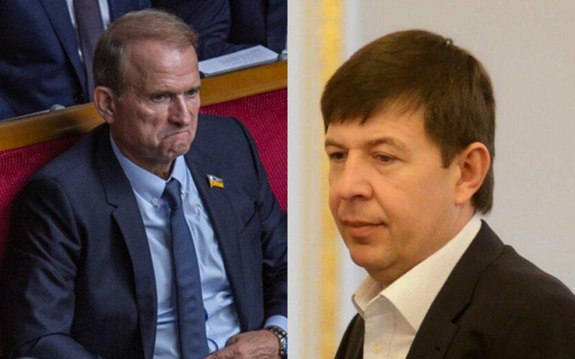 Виктор Медведчук, Тарас Козак, ОПЗЖ