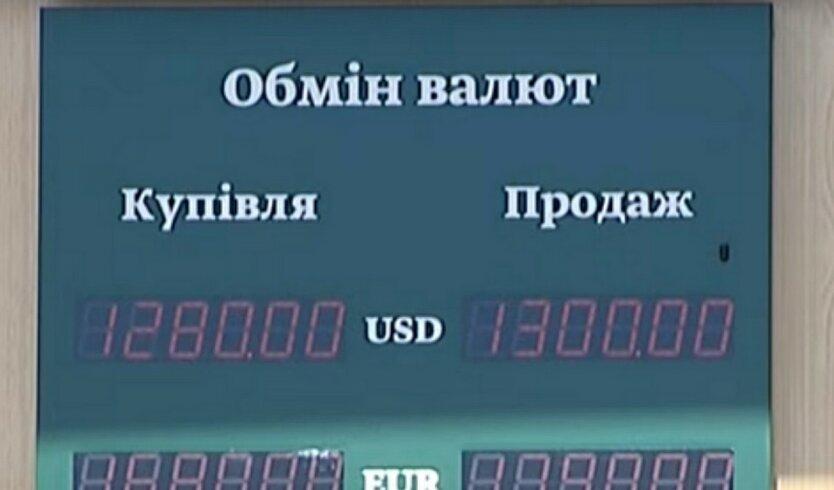 Нацбанк показал курс валют на начало недели