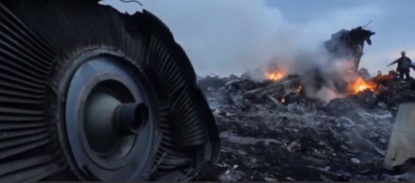 сбитый Боинг-777 (МН17) над Донбассом