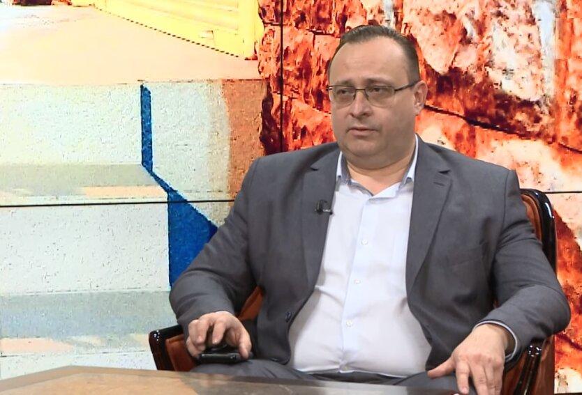 Глава управления Госпродпотребслужбы Киева Олег Рубан