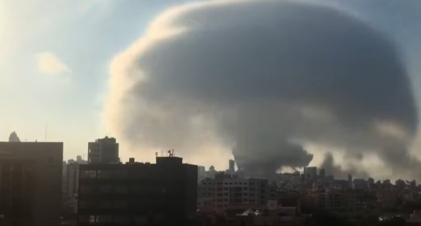 Взрыв, Бейрут, Ливан, Украина