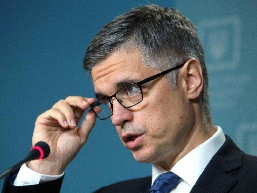 Министр иностранных дел Вадим Пристайко