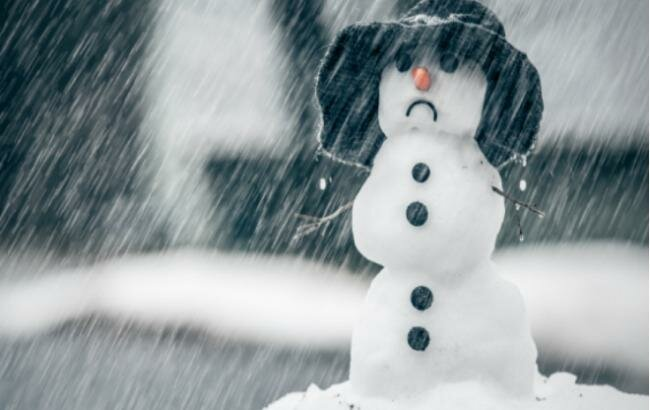 снег зима шторм