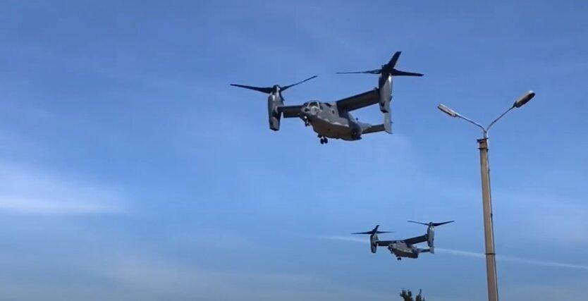 Конвертопланы Bell V-22 Osprey