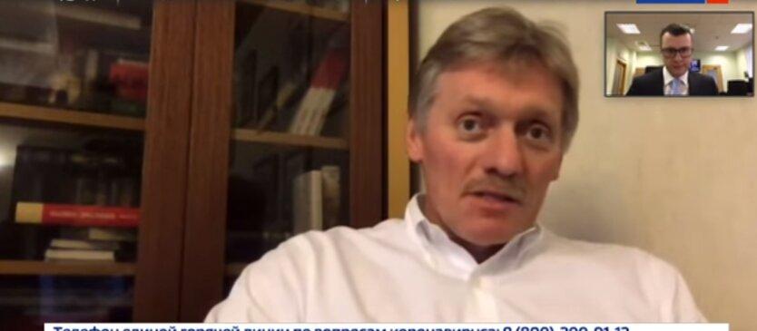пресс-секретарь президента РФ Дмитрий Песков, нормандский формат, США