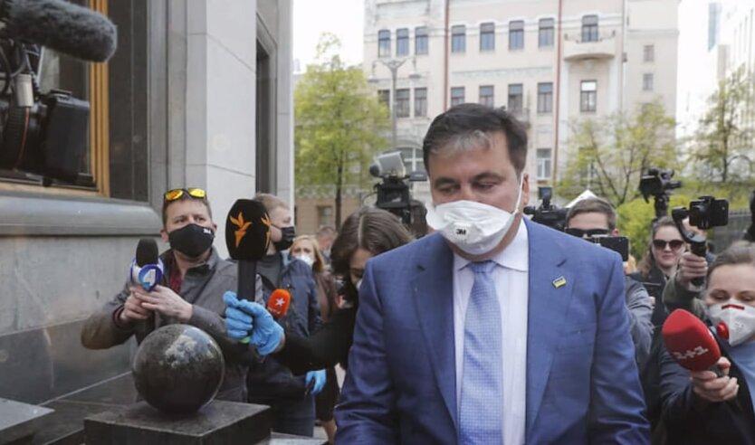 Михеил Саакашвили, назначение саакашвили, саакашвили про мвф