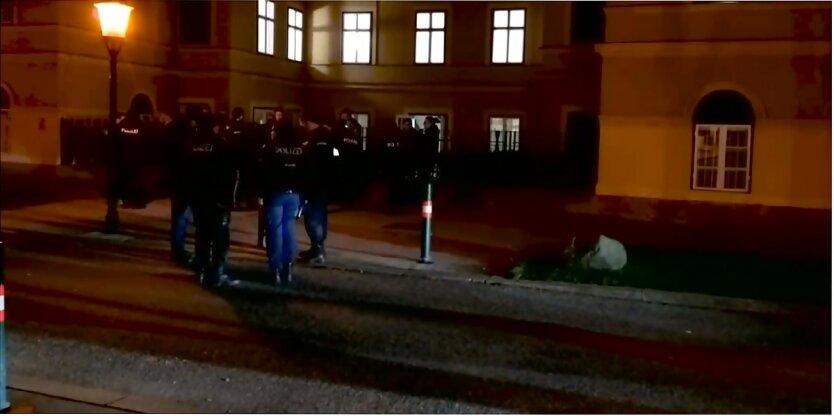 Нападение исламистов в Вене, Себастьян Курц, Церковь Святого Антония Падуанского в Вене