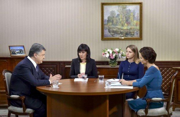 порошенко телеканалы