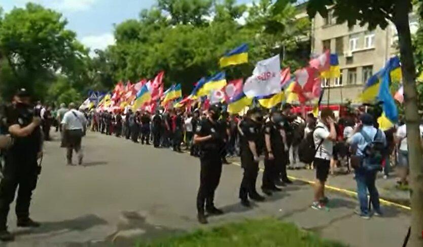 Акции протеста в Киеве, Шарий, полиция