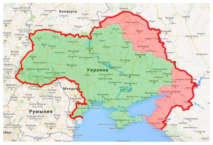 Карта Коломойского