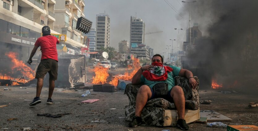 Протесты в Ливане