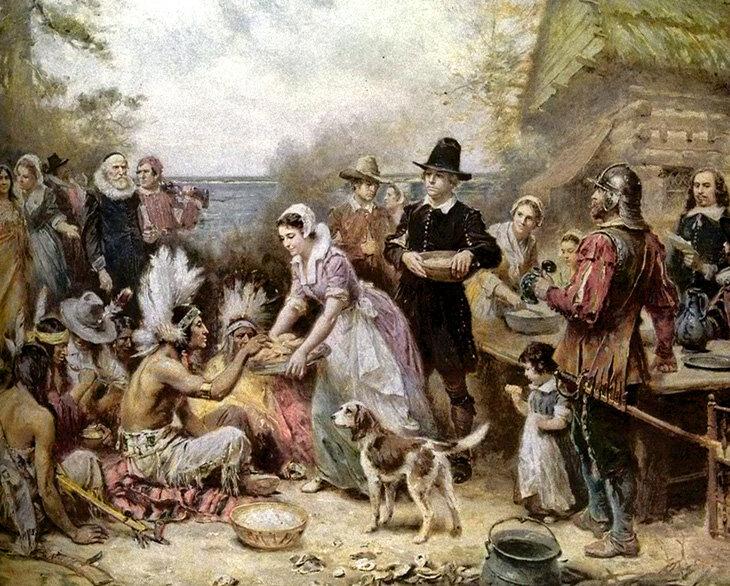 Индейцы и колонизаторы