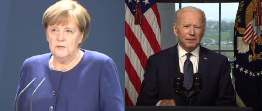 Меркель и Байден обсудили ситуацию на востоке Украины