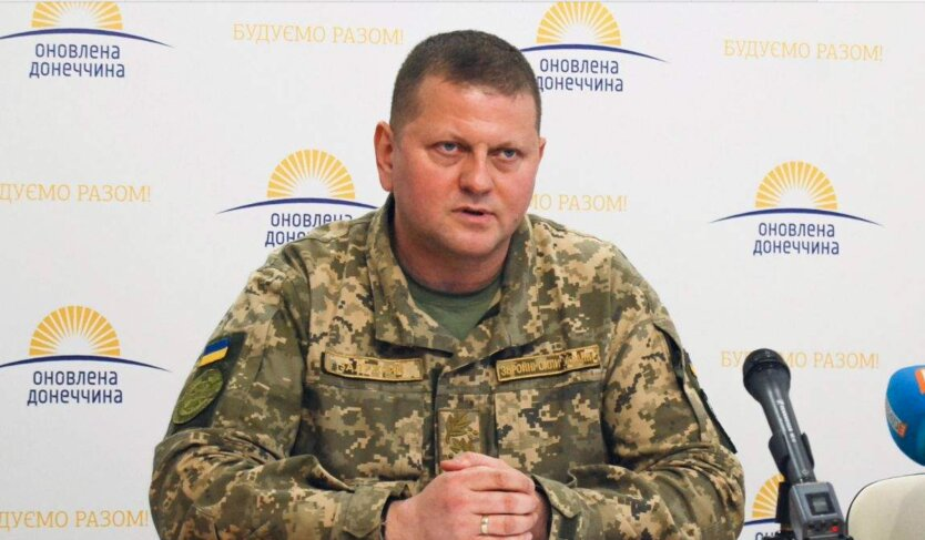 Главнокомандующий ВСУ Валерий Залужный, замена хомчака