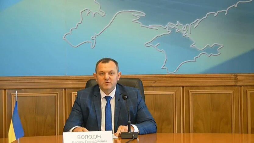 Василий Володин, ужесточение карантина, Киевская область