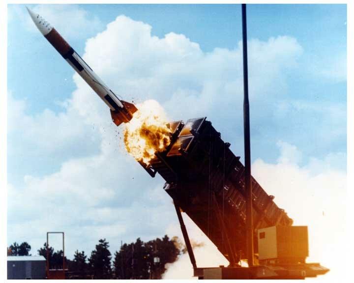 ракетные комплексы Patriot