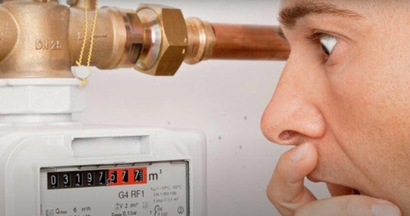 Показания газовых счетчиков