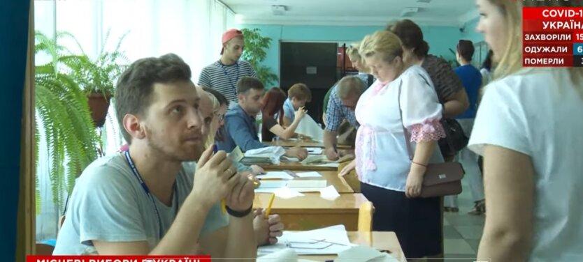 Местные выборы в Украине, ЦИК, протоколы