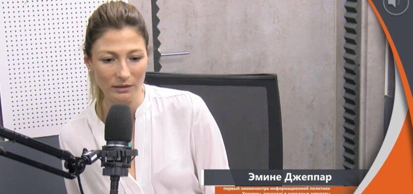 Эмине Джеппар, Россия, оккупация Крыма