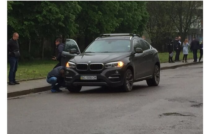 взрыв машины