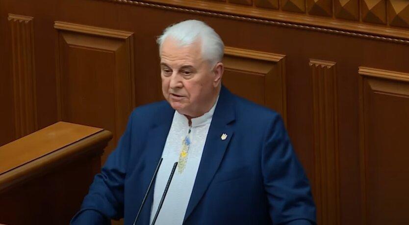 Леонид Кравчук, Донбасс, война