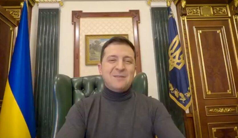 """Зеленский рассказал украинцам о новом бюджете и """"плачущем Киселеве"""""""