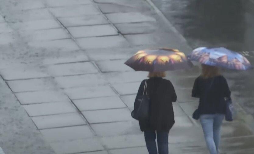 Дожди, Украина, погода