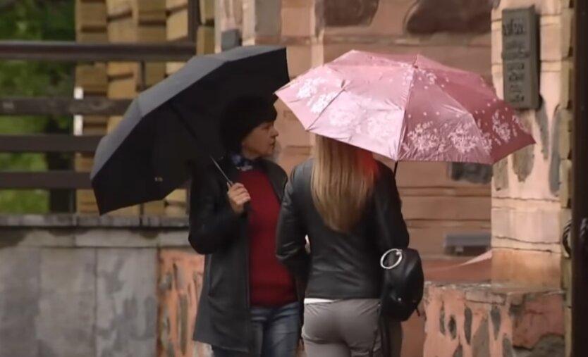 Дожди, потепление, Украина