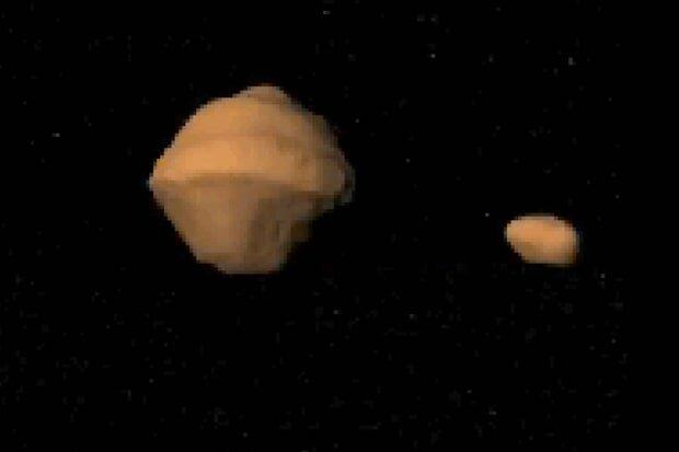 астероид луна