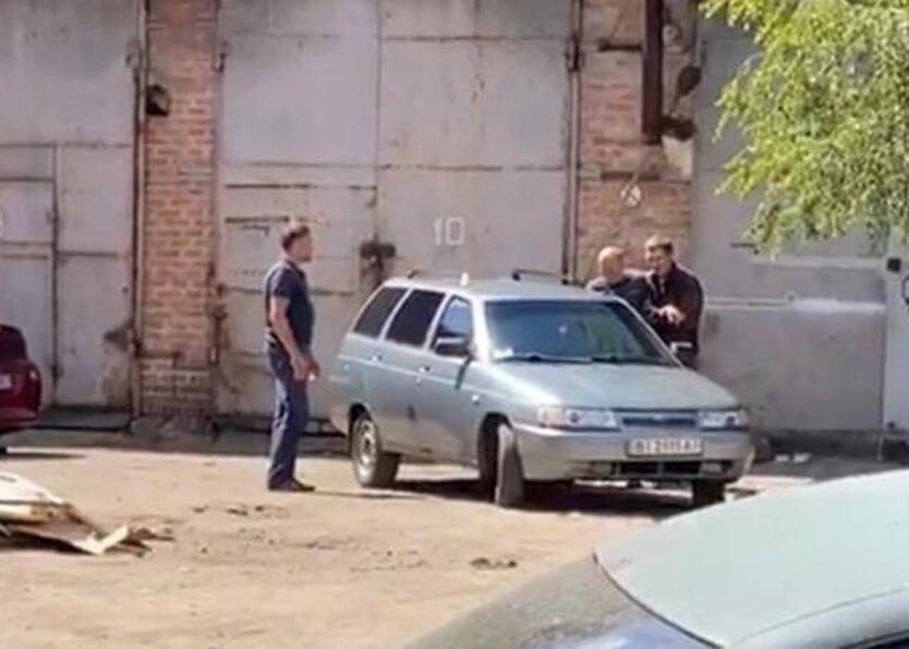 """""""Полтавский террорист"""", полковник полиции, Роман Скрипник"""