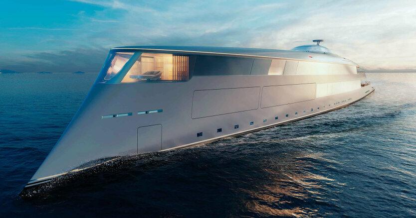 водородная яхта