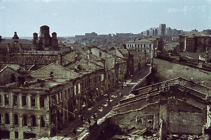 Украинский Сталинград: Харьков на фото времен Второй мировой войны ...