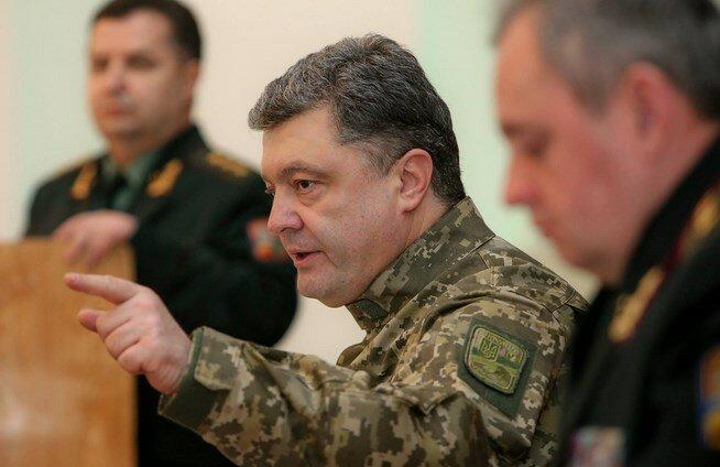 петр порошенко армия