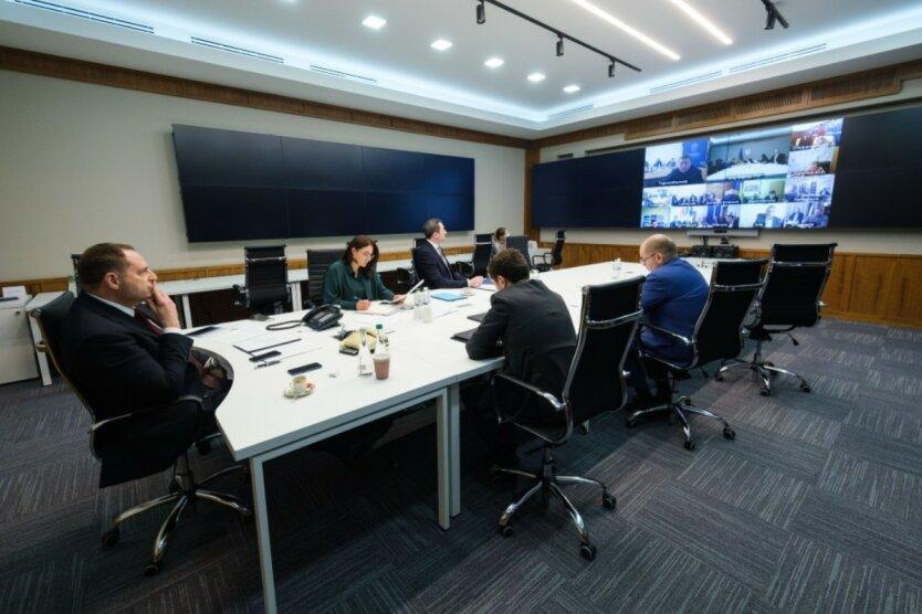 Заседание в Офисе президента
