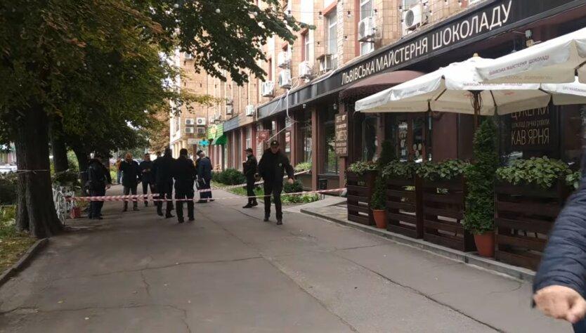 Убийство бизнесмена в Черкассах, Михаил Козлов, видео