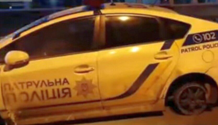 В Киеве таксист Uber «поздравил» полицию с Новым годом