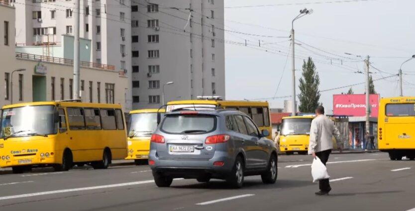 Украина, штрафы, пешеходы