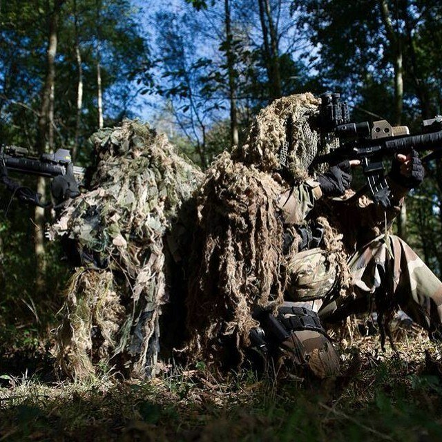 диверсанты снайперы лес