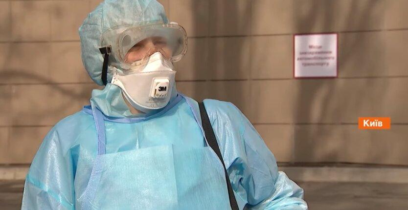 украинская медсестра, коронавирус