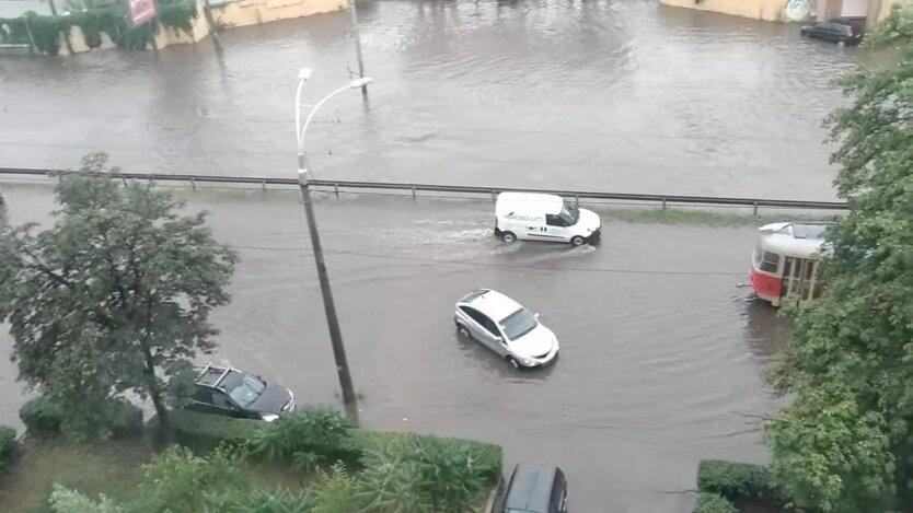Потоп в Киеве 19 июля