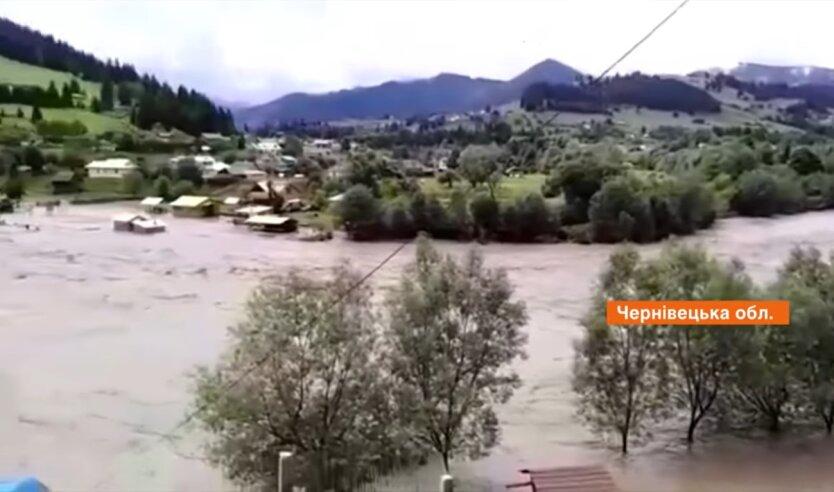 Потоп на Западной Украине, электричество, затопление