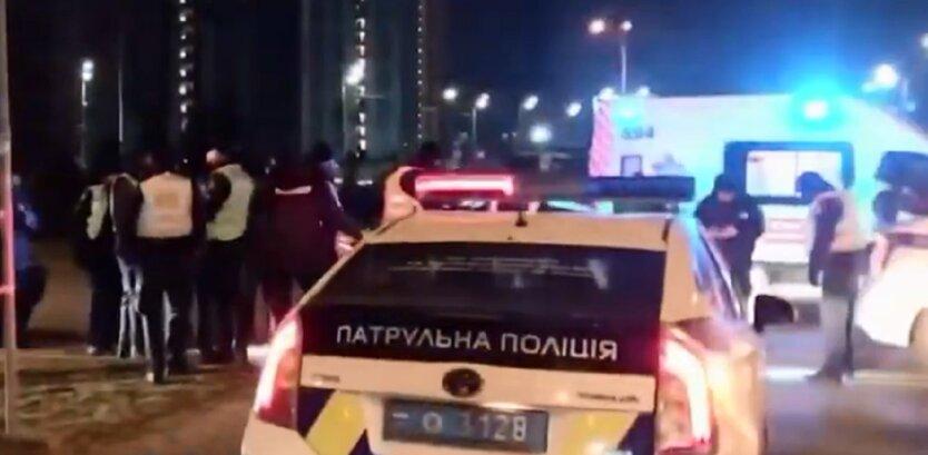 В Киеве подстрелили мужчину