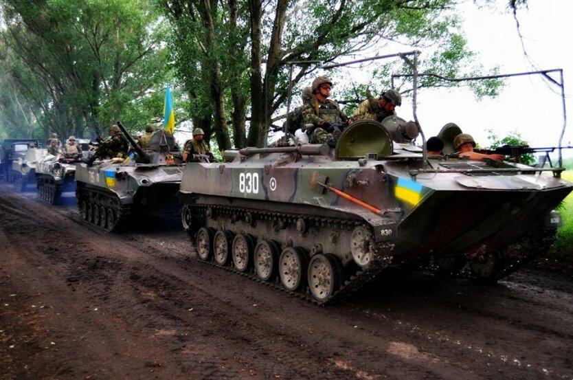 силы АТО украинская армия