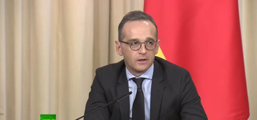 """Хайко Маас, переговоры в """"нормандском формате"""", Германия"""