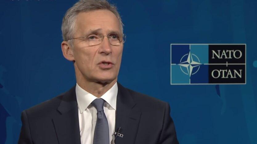 Генсек НАТО Йенс Столтенберг , Россия и Китай, ядерное оружие
