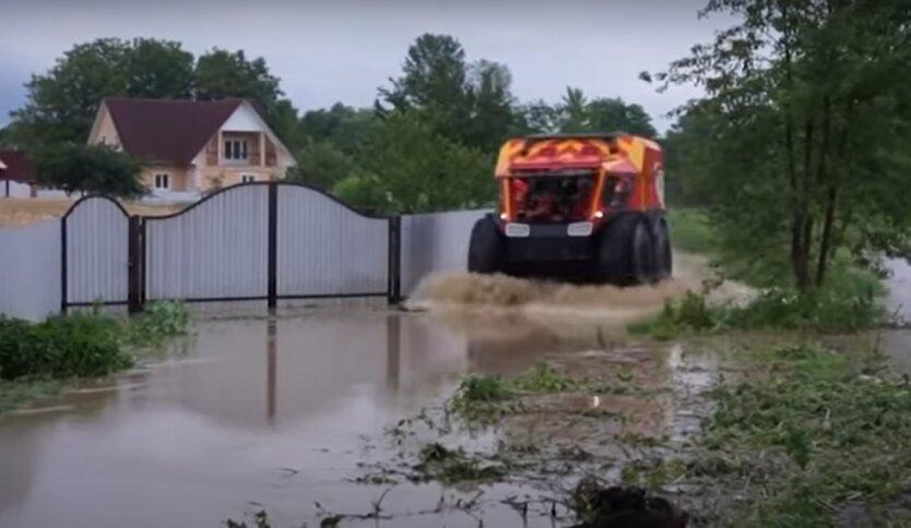 Наводнения в Украине