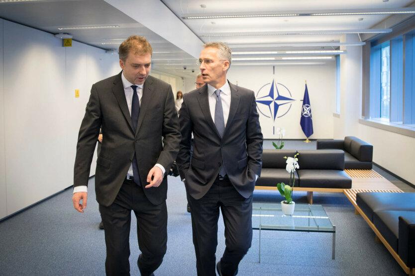Загороднюк в НАТО