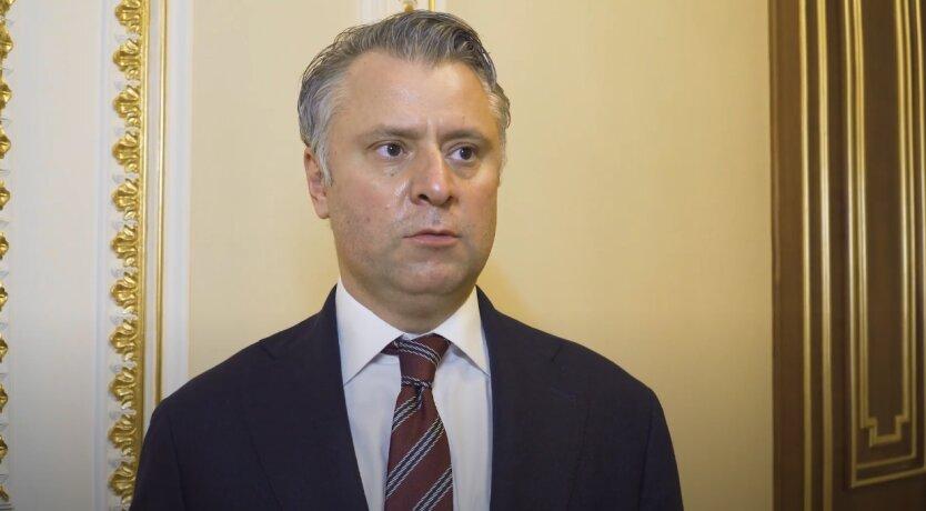 Юрий Витренко, газ, Россия