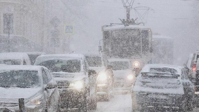 непогода снег зима дороги зимой