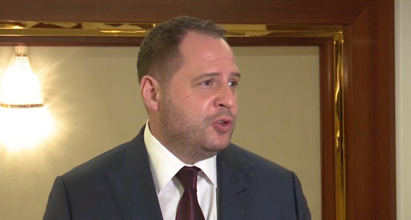 Встреча Зеленского и Путина, Андрей Ермак, Владимир Зеленский, Владимир Путин